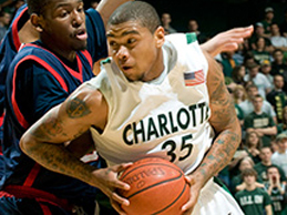 UNC Charlotte Basketball Game